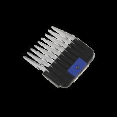 Edelstahl-Aufsteckkamm, blau