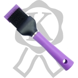 Master Groom Flexibürste schmal lila