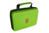 Soft Case mit Reißverschluss grün
